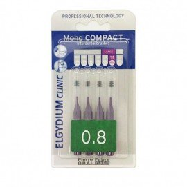 Elgydium Clinic Mono Compact 0.8 mm 4 brushes
