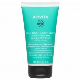 Apivita Κρέμα Εξισορρόπησης για Μαλλιά με Λιπαρές Ρίζες & Ξηρές Άκρες με Τσουκνίδα & Πρόπολη 150ml