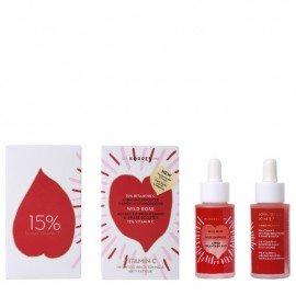 Korres Wild Rose Άγριο Τριαντάφυλλο Διφασικό Booster Mε Βιταμίνη C 15% 30 ml