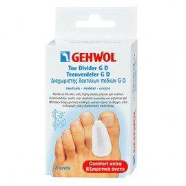 Gehwol Toe Divider G D Medium Διαχωριστής Δακτύλων Ποδιών G D 3τμχ