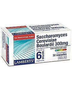 Lamberts Saccharomyces Cerevisiae Boulardii 300 mg 30 caps