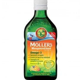 Mollers Cod Liver Oil Tutti Frutti 250 ml
