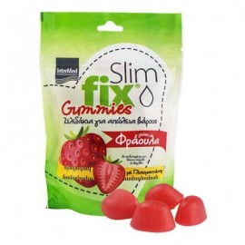Intermed Slim Fix Gummies Φράουλα 42 gummies
