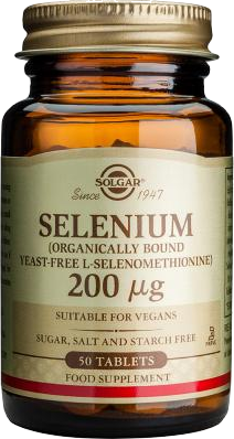 Solgar Selenium 200 μg 50 tabs