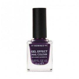 Korres Gel Effect Nail Colour 75 Violet Garden 11 ml