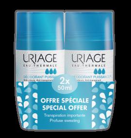 Uriage Power 3 Deodorant 2 x 50 ml