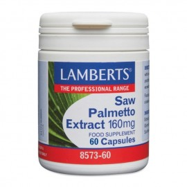 Lamberts Saw Palmetto Extract, Καλή Υγεία του Προστάτη & Γυναικείων Ορμονών 160mg 60caps