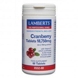 Lamberts Cranberry 18,750mg 60 ταμπλέτες