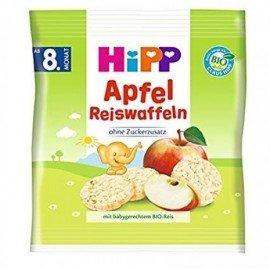 Hipp Παιδικό Ρυζογκοφρετάκι με Γεύση Μήλου από τον 8ο Μήνα 30gr