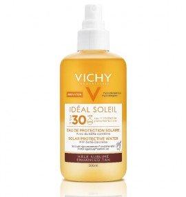 Vichy Ideal Soleil Αντηλιακό Νερό Προστασίας με Β- Καροτίνη SPF30 200ml