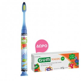 Gum Junior Light-up Toothbrush soft