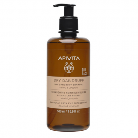 Apivita Dry Dandruff Shampoo Celery & Propolis Eco Pack 500 ml