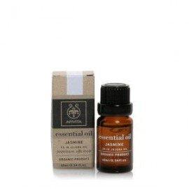 Apivita Essential oil Βιολογικό αιθέριο έλαιο Γιασεμί 10% σε Jojoba 10 ml