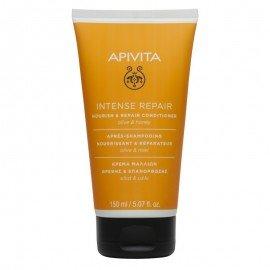 Apivita Intense Repair Κρέμα Μαλλιών Θρέψης & Επανόρθωσης Με Ελιά & Μέλι 150ml