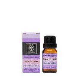 Apivita Home fragrance Time to Relax μίγμα αιθερίων ελαίων 10 ml