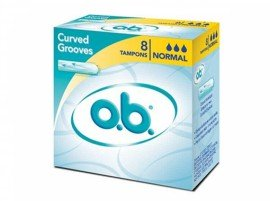 Ob OB Ταμπόν Curved Grooves, Normal. 8τεμ