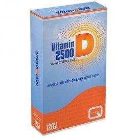 Quest Vitamin D3 2500IU Συμπλήρωμα Διατροφής Με Βιταμίνη D 120 Ταμπλέτες