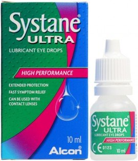 Systane Ultra Οφθαλμικές Σταγόνες 10ml