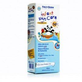 Frezyderm Infant Sun Care SPF50+ Βρεφικό Αντηλιακό Γαλάκτωμα Για Πρόσωπο - Σώμα 100ml