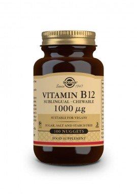 Solgar Vitamin B-12 1000 μg 100 nuggets sublingual-chewable