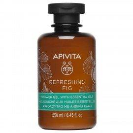 Apivita Refreshing Fig Shower gel with essential oils 250 ml