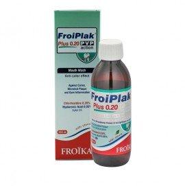 Froika Froiplak Plus 0.20 Pvp Action, Στοματικό Διάλυμα Κατά της Χρώσης 250ml