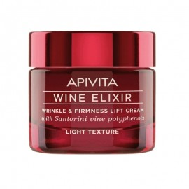 Apivita Wine Elixir Αντιρυτιδική Κρέμα για Σύσφιξη & Lifting Ελαφριάς Υφής 50ml