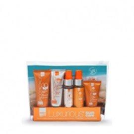 Intermed Luxurious Sun Care Travel Kit Πακέτο Αντιηλιακής Προστασίας με Υαλουρονικό Οξύ
