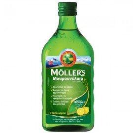 Mollers Cod Liver Oil Lemon 250 ml