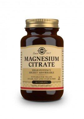 Solgar Magnesium Citrate 200 mg 60 tabs