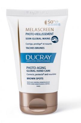 Ducray Promo Melascreen Photo-Aging Crème Mains Global SPF50 Κρέμα Χεριών για Καφέ Κηλίδες 50ml