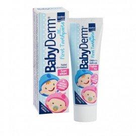 Intermed BabyDerm First Toothpaste Παιδική Οδοντόκρεμα από 6 Μηνών 50ml