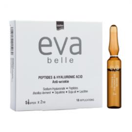 Intermed Eva Belle Peptides & Hyaluronic Acid Anti-Wrinkle 5 amp x 2 ml 10 εφαρμογές