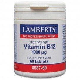 Lamberts Vitamin B12 1000μg 60 tablets