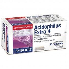 Lamberts Acidophilus Extra 4 Προβιοτικό Σκεύασμα 30 Capsules