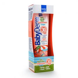 Intermed Babyderm Sunscreen Cream 100% Natural Filters SPF30 300 ml