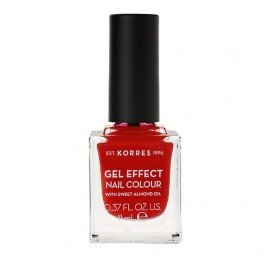 Korres Gel Effect Nail Colour 53 Royal Red 11 ml