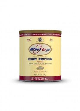 Solgar Whey to Go Protein Powder Vanilla , Πρωτεΐνη Ορού Γάλακτος Βανίλια 907g