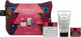 Apivita Wine Elixir Set Πλούσιας Υφής 50ml & Δώρο Cleansing Milk 50ml & Night Cream 15ml