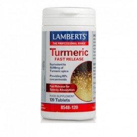 Lamberts Turmeric Fast Release 10,000mg 120Tabs