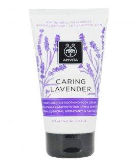 Apivita Caring Lavender Ενυδατική & Καταπραυντική Κρέμα Σώματος 150ml