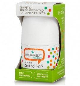 Pharmasept Kid Deo Roll-on Extra Mild Εξαιρετικά Απαλό Αποσμητικό για Παιδιά 50ml