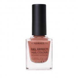 Korres Gel Effect Nail Colour With Sweet Almond Oil No.40 Winter Nude 11ml