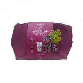 Apivita Promo Wine Elixir Spf30 Αντιρυτιδική Κρέμα Ημέρας για Σύσφιξη & Lifting 40ml & Δώρο Cleansing Milk 3σε1 50ml & Δώρο Express Mask Anti-Wrinkle Grape 2x8ml