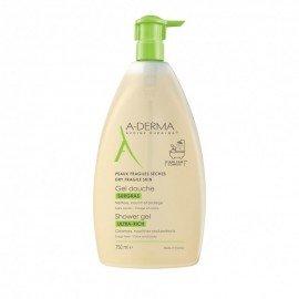 A-Derma Gel Douche Surgras Ultra Rich Shower Gel, Καθαρισμός για Ξηρές Επιδερμίδες 750ml