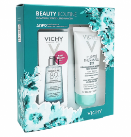 Vichy Promo Mineral 89 50 ml & Purete Thermale 3 in 1 Cleanser 100 ml
