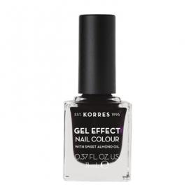 Korres Gel Effect Nail Colour 76 Smokey Plum 11 ml