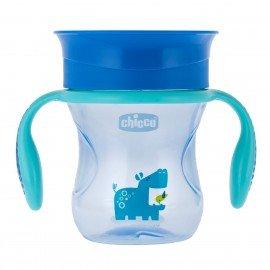 Chicco Perfect Cup Κυπελλο 2 Σε 1 12Μ+ Μπλε 200 ML