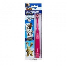 Elgydium Power Kids Ice Age Toothbrush Pink Ηλεκτρική Οδοντόβουρτσα Για Παιδιά