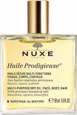 Nuxe Huile Prodigieuse Multi Purpose Dry Oil Face Body Hair 50 ml